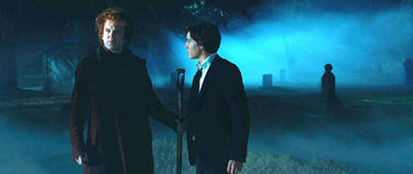 John C. Reilly as Larten Crepsley and Chris Massoglia as Darren Shan in &quot;The Vampire&#39;s Assistant.&quot;